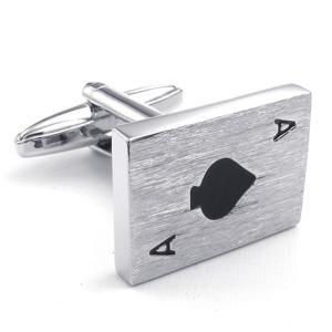 PW 高品質真鍮 エース  カフス ボタン 条件付 送料無料 23368 pwatch2014