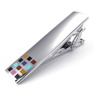 PW 高品質真鍮 チェック柄 タイピン 条件付 送料無料 2436224362|pwatch2014