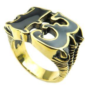 PW 高品質316Lステンレス 秘密結社 フリーメイソン 指輪 / 都市伝説 13x怪獣の爪 ゴールド 14-28号可選 幅32mm リング[ラッピング対応] 条件付送料無料25249|pwatch2014