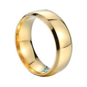 指輪 リング[ラッピング対応] PW 精良SUS316L製 ゴールド金 シルバー銀 ブラック黒 光沢仕上げ シンプル ring /  幅6mm 14-28号 条件付送料無料61261|pwatch2014