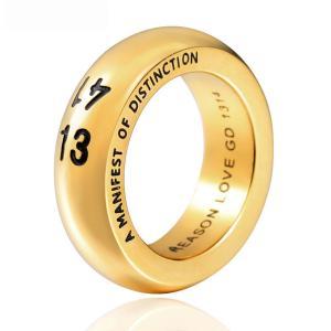 指輪 リング[ラッピング対応] PW 精良SUS316L製 金 銀 古銀色 韓流グッズ BIGBANGのG-DRAGON(權志龍)愛用 1314ring /  幅11mm 14-28号 条件付送料無料61277|pwatch2014