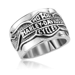 指輪 リング[ラッピング対応] PW 精良SUS316L製 銀金黒の3色 モーターサイクル ハーレーダビッドソン仕様 ring /  幅22mm 14-28号 条件付送料無料61292|pwatch2014