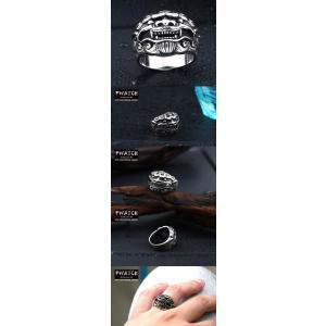 指輪 リング[ラッピング対応] PW 精良SUS316L製 シルバー銀 お守り 魔よけ 財宝を招き入れる 神話の霊獣 麒麟 ring /  幅24mm 14-28号 条件付送料無料61298|pwatch2014|04
