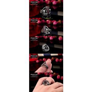 指輪 リング[ラッピング対応] PW 精良SUS316L製 パンク風 吸血鬼の棺桶 vampire 髑髏 スカル ring /  幅24mm 14-28号 条件付送料無料61299|pwatch2014|04