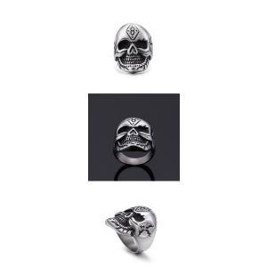 指輪 リング[ラッピング対応] PW 精良SUS316L製 シルバー銀 髑髏 スカル ラッキーナンバー8 skull ring /  長さ33mm 幅25mm 18-28号 条件付送料無料61689|pwatch2014|04