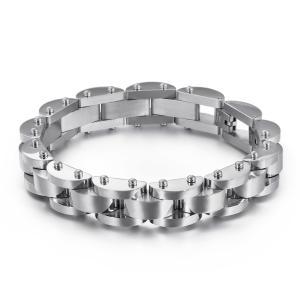 バングル[ラッピング対応] PW 精良SUS316L製 洗練 シンプル ファッション bracelet /  長さ220mm 幅14mm 条件付送料無料62062|pwatch2014