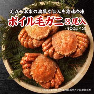 網走産ボイル毛ガニ3尾入 pyloninc