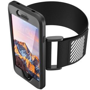 Eximtrade シリコーン アームバンド フォンホルダー 携帯電話ケース 反射ストリップ ランニング スポーツ Apple iPhone|qalib