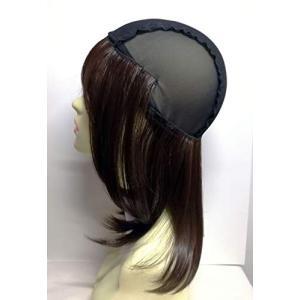 イメヘア 夏用帽子ウィッグ 母の日 毛付きキャップ 髪付き帽子 毛つけ帽子 おしゃれで優しい肌触り一押し帽子 フルウィッグ着用に必需品wig|qalib