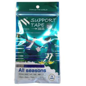 強力両面テープ(カツラ用途):3M 1袋36枚入り(小分け72枚)テープ形状:アジアカーブ 並行輸入品|qalib
