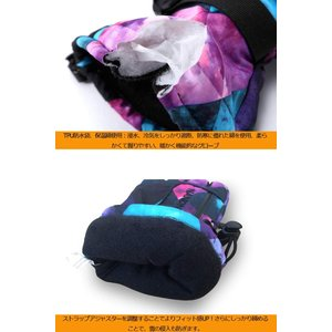 X.A スキーグローブ スノボーグローブ スキー 手袋 登山 手袋 防寒グローブ 防水 防寒 保温 通気性 サイズ選択可 (レッド, L(女|qalib