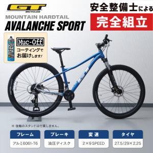 《在庫あり》[GWも営業中]GT ジーティー 2019年モデル AVALANCHE SPORT アバランチェスポーツ [完成車]|qbei