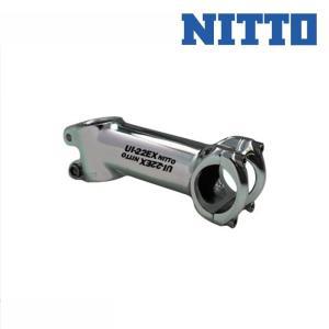 NITTO 日東/ニットー STEM for ROAD RACE ロードレース用 ステム UI-22EX シルバー qbei