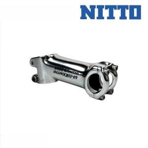 《即納》NITTO 日東/ニットー STEM for ROAD RACE ロードレース用 ステム UI-86EX シルバー|qbei