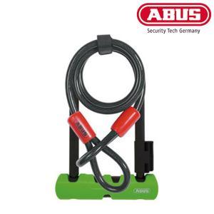 [GWも営業中]ABUS アバス ULTRA MINI ウルトラミニ410SH 180mm +COBRA U字ロック 自転車の盗難防止に|qbei