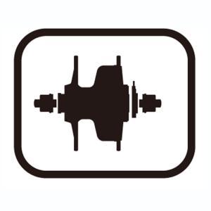 SHIMANO シマノ スモールパーツ・補修部品 左軸間座 2.5mm M11ねじ軸用 Y2SX21000 シマノスモールパーツ|qbei