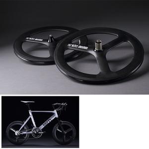 TERN ターン Kitt design CarbonTri-spoke R-Wheel forDisc(カーボンバトンホイール リア用ディスクブレーキ用)|qbei