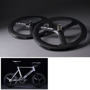 TERN ターン Kitt design CarbonTri-spoke F-Wheel for Disc|qbei