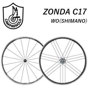 Campagnolo カンパニョーロ ZONDA C17 ゾンダC17 前後セット シマノ用 9/1...