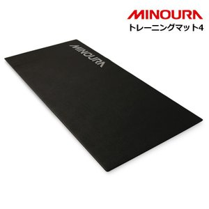 《即納》[土日祝もあすつく]MINOURA(ミノウラ) トレーニングマット4 トレーナーマット4 ローラー台用|qbei