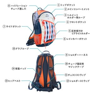 《即納》[あすつく]BIKOT(ビコット)Backpack 10リットル バックパック サイクリング【国内独占】《P》|qbei|16