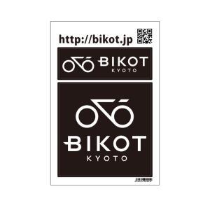 《即納》[あすつく]【国内独占】BIKOT ビコット STICKER ステッカー《P》|qbei