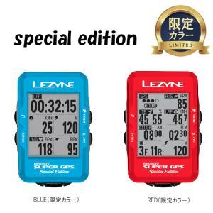 《即納》【記念カラー登場!】LEZYNE レザイン SUPER GPS スーパーGPS サイクルコンピューター《P》|qbei