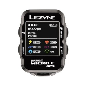 LEZYNE レザイン MICRO COLOR GPS マイクロカラー GPS サイクルコンピューター《P》|qbei