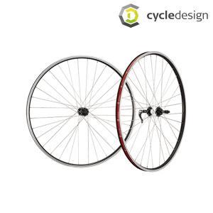 [GWも営業中]cycledesign サイクルデザイン FRONTWHEEL フロント クロス用ホイール 700Cリムブレーキ 8(829208)前用のみ|qbei