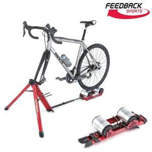 《即納》[あすつく]【スタイリッシュローラー台!】FEEDBACK SPORTS(フィードバックスポーツ) Portable Bike Trainer ハイブリット式ローラー台|qbei