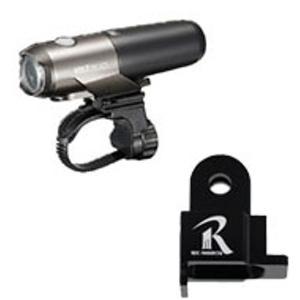 【レックマウントにキャットアイのライトを取り付けるのに必要】REC-MOUNTS for CATEYE type2(ライトアダプター キャットアイ用 タイプ2)[GP-CATHL2]|qbei