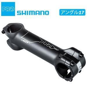 《即納》SHIMANO PRO シマノ プロ LTステム 60-120mm アングル17|qbei
