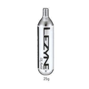 LEZYNE レザイン CO2 CARTRIDGE 25G 5PCS CO2カートリッジ25G 5P...