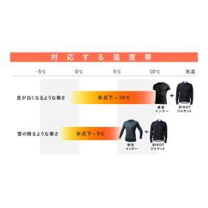 《即納》BIKOT(ビコット) コールドブレークジャケット 冬用サイクルジャージ 氷点下から10度まで対応 撥水・防風機能付き【国内独占】|qbei|09