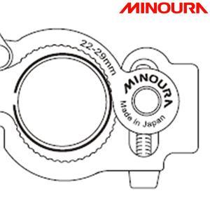 MINOURA ミノウラ、箕浦 SMクランプ用 透明シート 薄 1枚|qbei