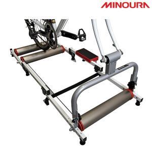 《即納》MINOURA ミノウラ、箕浦 モッズローラー用アクションブリッジ QR/スルー兼用