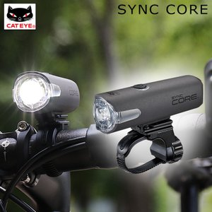 CATEYE キャットアイ HL-NW100RC SYNC CORE シンクコアヘッドライト充電式 500ルーメン|qbei