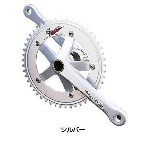 SUGINO(スギノ)シングルギヤクランクセット1S SG75-DD2 44T 〜 50T|qbei