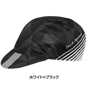 《即納》KAPELMUUR カペルミュール 2019年モデル サイクルキャップスピードラインホワイト×ブラック LION・リオン licap026|qbei