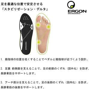 ergon エルゴン IP3ソールスター|qbei