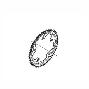 SHIMANO シマノ CHAIN RING with SPIKE 50T-F スパイク付 チェーンリング 50T-F FC-5750-S|qbei