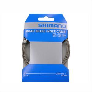SHIMANO シマノ INNER CABLE for BRAKE ロード用 SUS ブレーキインナーケーブル φ1.6mm×2050mm/1パック|qbei