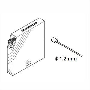 SHIMANO シマノ INNER CABLE for SHIFT シフト用インナーケーブル φ1.2mm×2100mm 100本|qbei