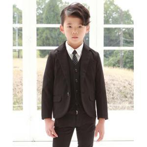 SALE(20%OFF)GENERATOR ジェネレーター スーツ 子供服 ドレステーラードジャケット 黒 (110cm/120cm/130cm)メーカー希望小売価格13,824(税込)|qeskesmoppet