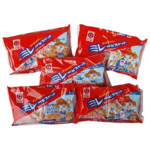 野村 のむら ミレービスケット 1袋(30g×6袋)×5個セット 送料込価格(※北海道・沖縄県の方は送料500円となります)|qeskesmoppet