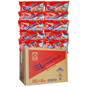 野村 のむら ミレービスケット 1袋(30g×6袋)×10個セット(1ケース) 送料込価格(※北海道・沖縄県の方は送料500円となります)|qeskesmoppet