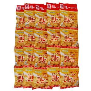 野村 のむら 4連ミレービスケット(キャラメル味) 5個セット  送料込価格(※北海道・沖縄県の方は送料500円となります)|qeskesmoppet