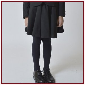 generator ジェネレータースーツ 子供服 ワンボタンガールズジャケット用フレアスカート(BK)110cm/120cm/130cm/140cm 入学式 女の子|qeskesmoppet