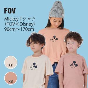 FOV 子供服 Mickey Tシャツ(FOV×Disney)(90cm-170cm) qeskesmoppet