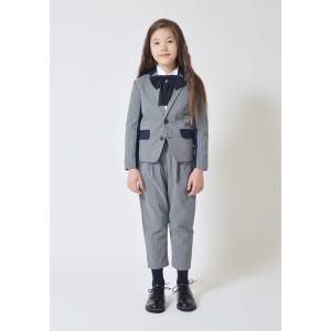 SALE(20%OFF)卒業式 女の子 男の子 ジェネレータースーツ 子供服 セットアップスーツ (上下セット)(グレー)150cm/160cm メーカー希望小売価格28,620(税込)|qeskesmoppet